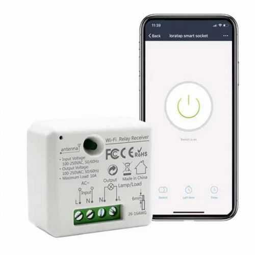 Modulo interruptor-enchufe inteligente Wifi Alexa-Google