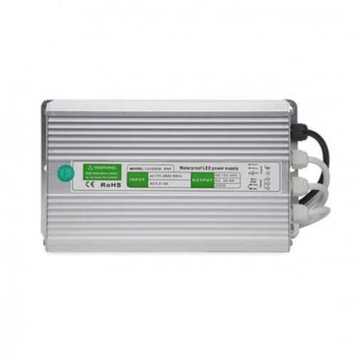 Fuente alimentación 250W 12V IP67