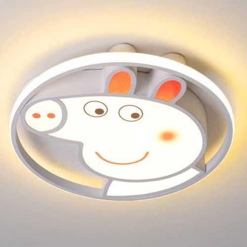 Plafón LED 50W Juvenil Peppa Pig Blanco Mando distancia