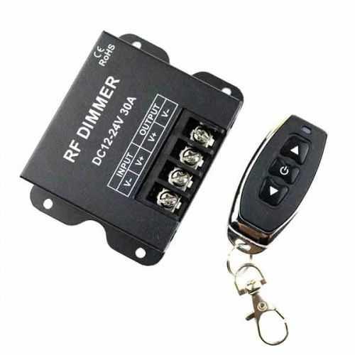 Dimmer- Regulador tira de LED 12-24V con mando hasta 360W
