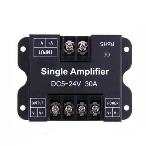 Amplificador para Dimmer- Regulador de tiras LED 12-24V