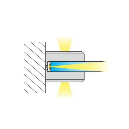 Clip-soporte Led para estantes de cristal