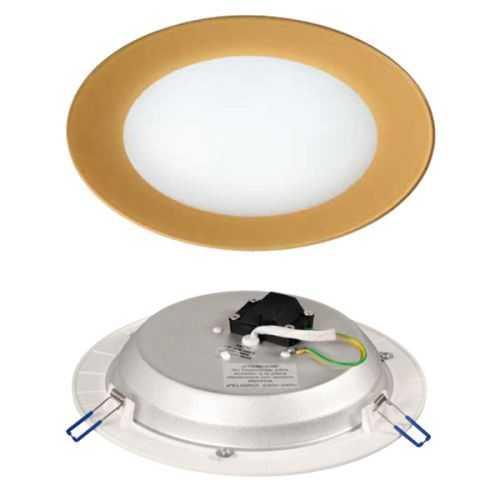 Downlight LED Cristal Oro 18W