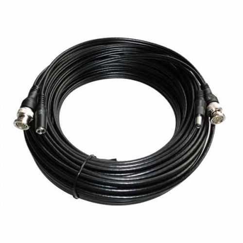 Cable coaxial cámaras de seguridad vídeo y alimentación de 20 m