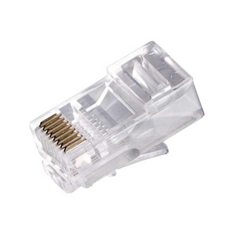 Conector RJ45 cat6E para cable UTP Ethernet