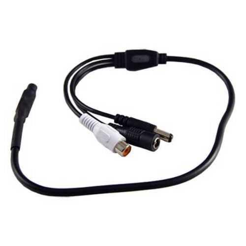 Micrófono externo para cámaras CCTV