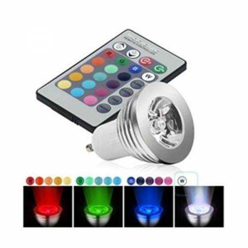 GU10 LED RGB 3W 230V