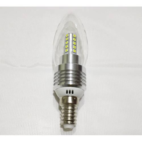 Bombilla E14 LED SMD Vela 5W 230V