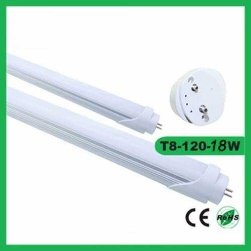 Tubo LED 18W Difusor Transparente 1200mm