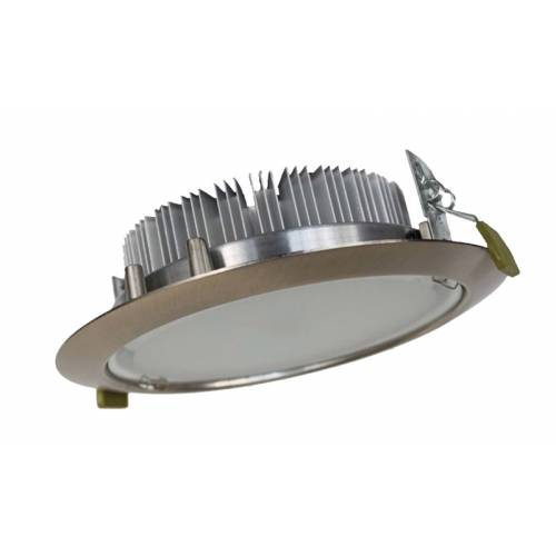 Downlight LED 18W NIQUEL SATINADO 230V