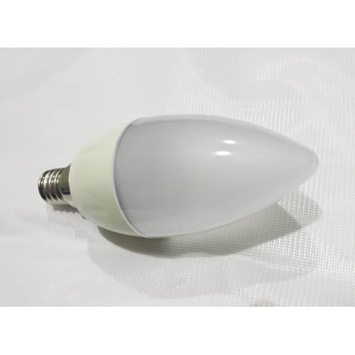 Bombilla E14 LED Vela 5W Aluminio