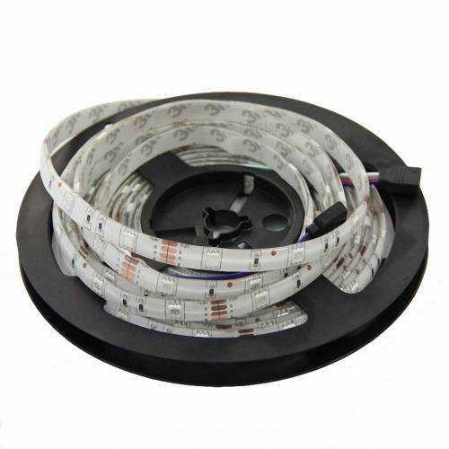 Tira LED 5050 RGB 7,2 W/m 12V IP65 5 metros