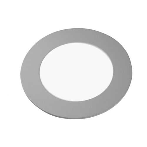 Downlight LED Panel 6W Plata Gris
