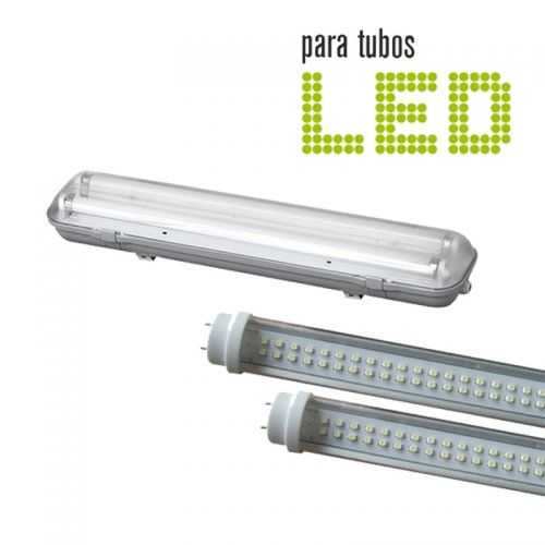 Pantalla estanca 2 Tubos LED 60CM