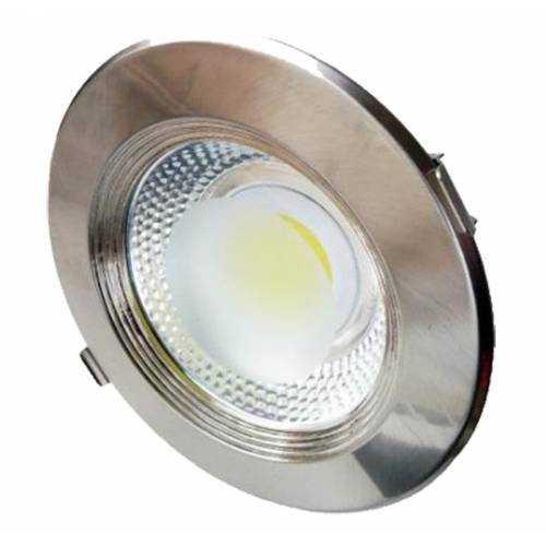 Downlight LED COB 30W INOX
