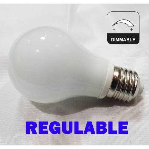 Bombilla E27 LED CRISTAL 7W REGULABLE 230V