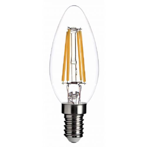 Bombilla E14 VELA FILAMENTO LED 4W