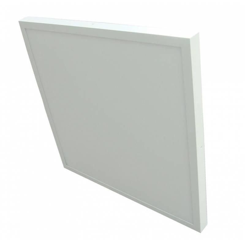 Plafón LED superficie Cuadrado 36W Blanco