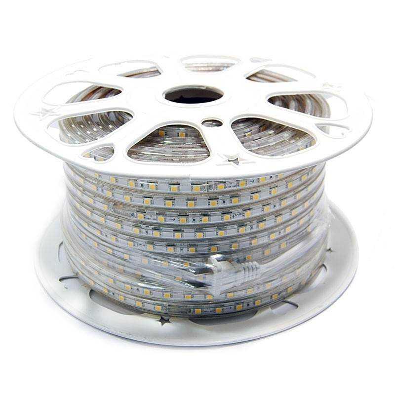 Rollo 25 metros Tira LED SMD 5050 11 W/m 230V IP67