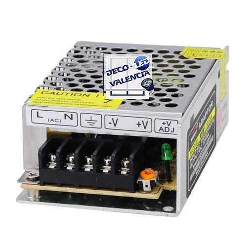 Fuente alimentación 72W 24V Tiras led IP44