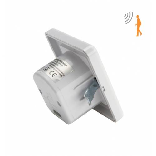 Detector movimiento empotrar caja universal