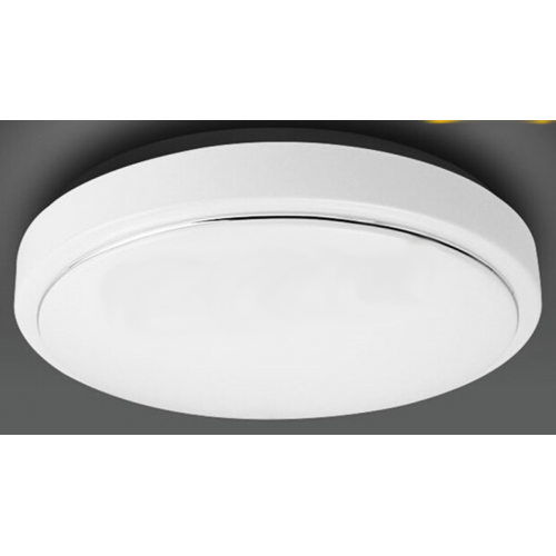 Plafón LED superficie OPAL 18W Cromo