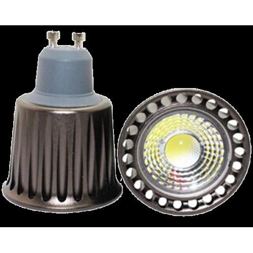 Dicroica GU10 5W LED Lente COB 230V