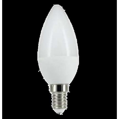 Bombilla E14 LED Vela 6W Aluminio