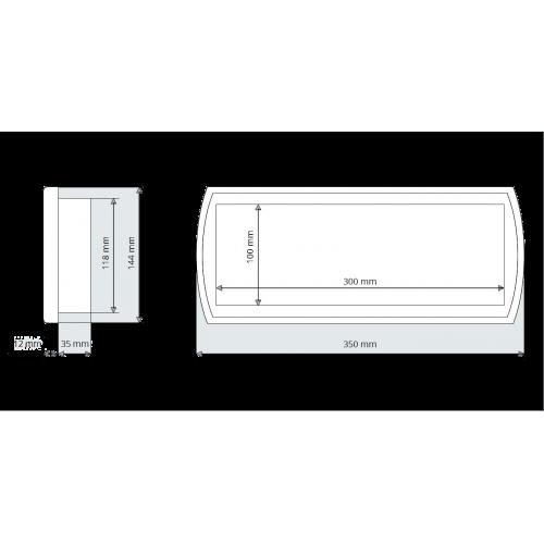 Aplique LED Espejo Baño 5W 230V