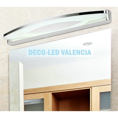 Aplique LED Espejo Baño 12W-15W CROMO