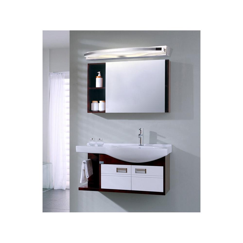Aplique led espejo ba o 12w 15w cromo - Aplique espejo bano led ...