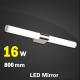 Aplique LED Espejo Baño 8W-12W-16W CROMO