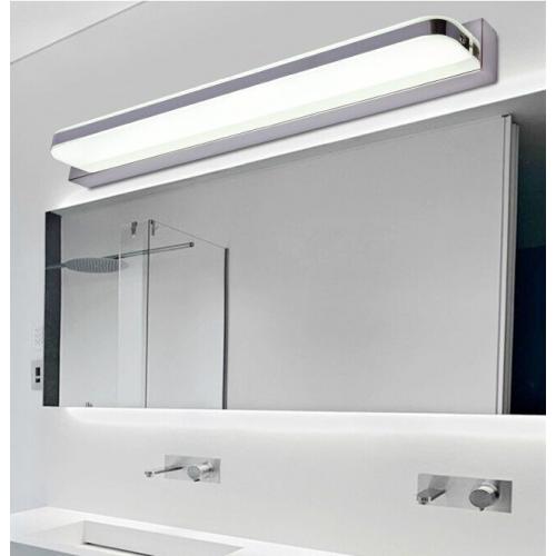 Aplique led espejo 10w 15w cromo - Aplique bano led ...