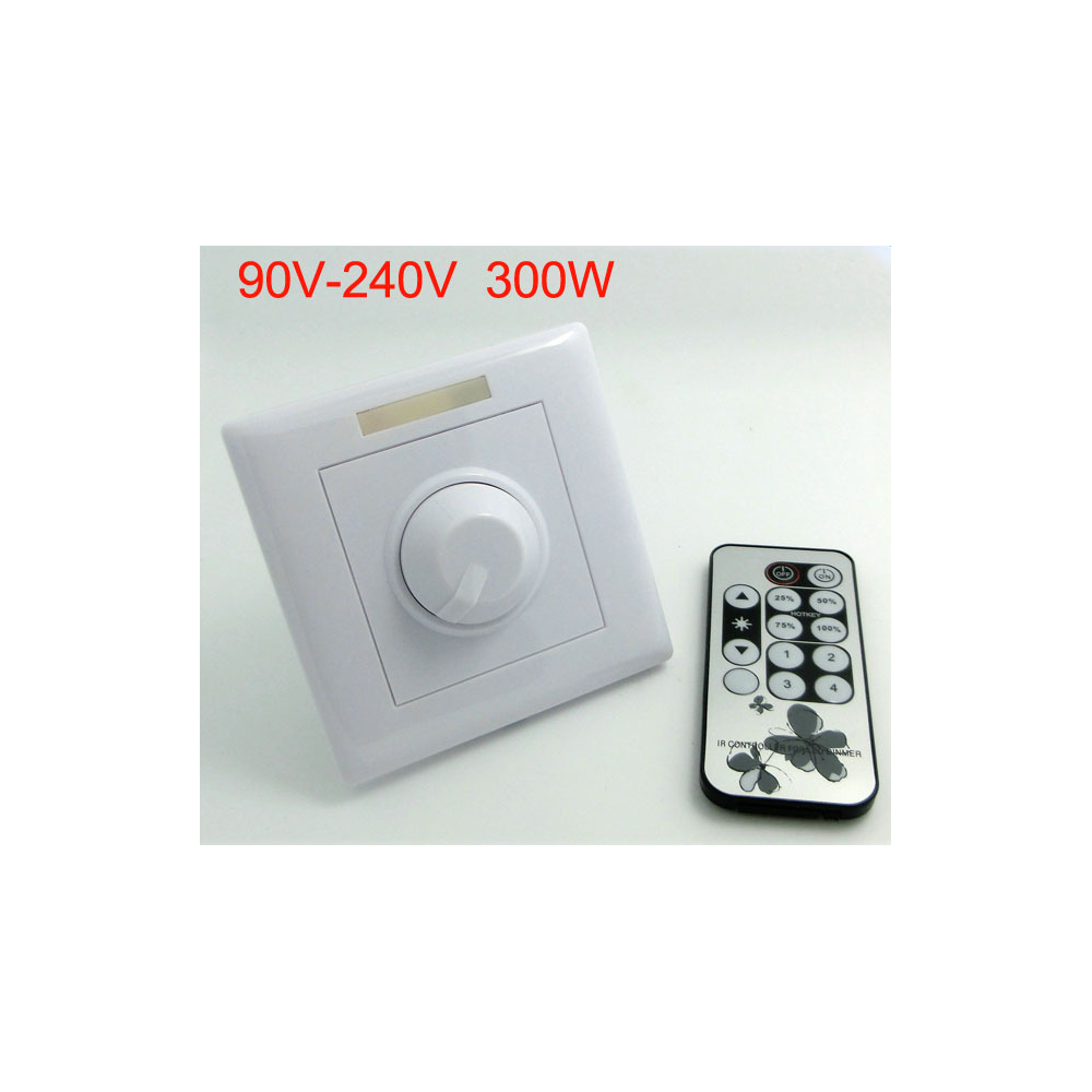 regulador dimmer bombillas led empotrable