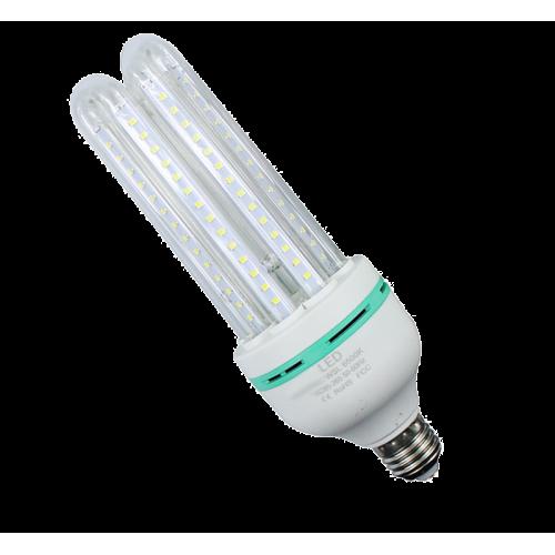 Bombilla E27 20W LED CRISTAL 360º 230V