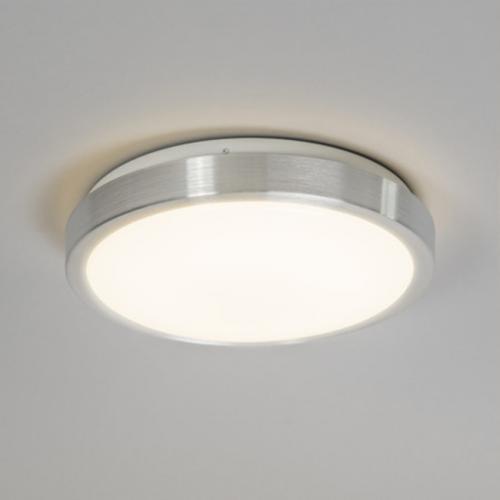 Plafón LED 15W Contorno Aluminio