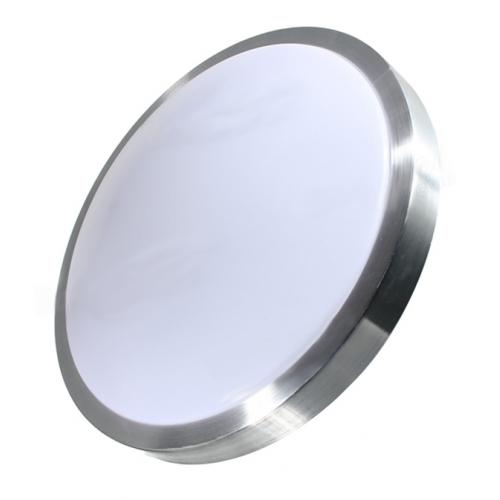 Plafón LED 18W Contorno Aluminio