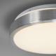Plafón LED 23W Contorno Aluminio 230V