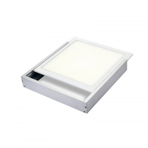 Marco superficie BLANCO para Panel LED de 595mm