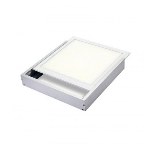 Marco superficie BLANCO para Panel LED de 595mm