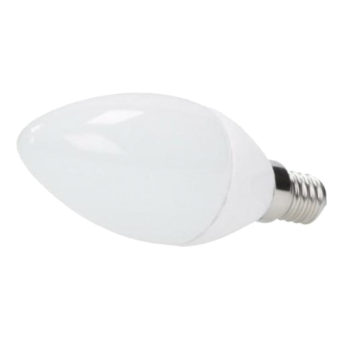 LOTE Bombilla E14 LED Vela 6W