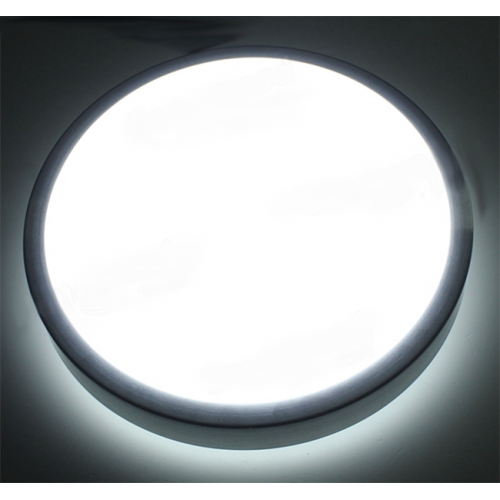 Plafón LED detector movimiento 18W Aluminio