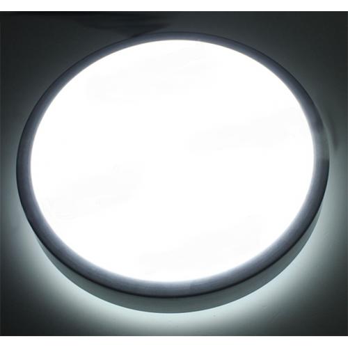 Plafón LED DETECTOR PRESENCIA 18W Contorno Aluminio 230V