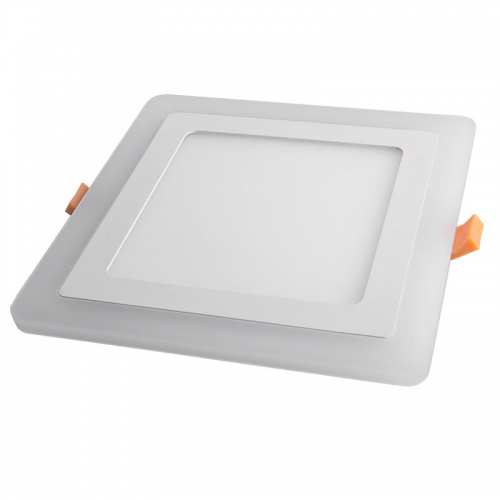 Downlight LED 20W+4W Contorno iluminado Cuadrado