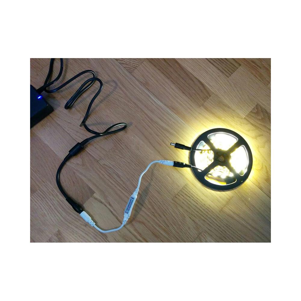 Mini regulador tiras led 12 24v for Regulador para led