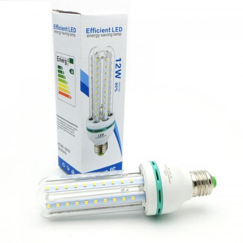 Bombilla E27 12W LED CRISTAL 360º 230V