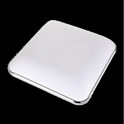 Plafón LED 48W Cuadrado Aluminio-Cromo