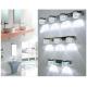 Aplique LED Espejo Baño 9W Burbujas
