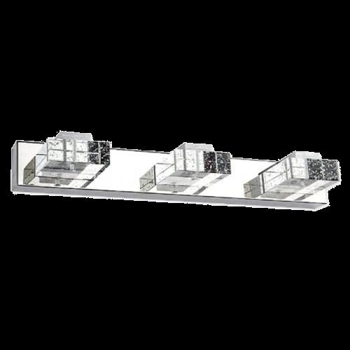 Aplique LED Espejo Baño 9W Cristal