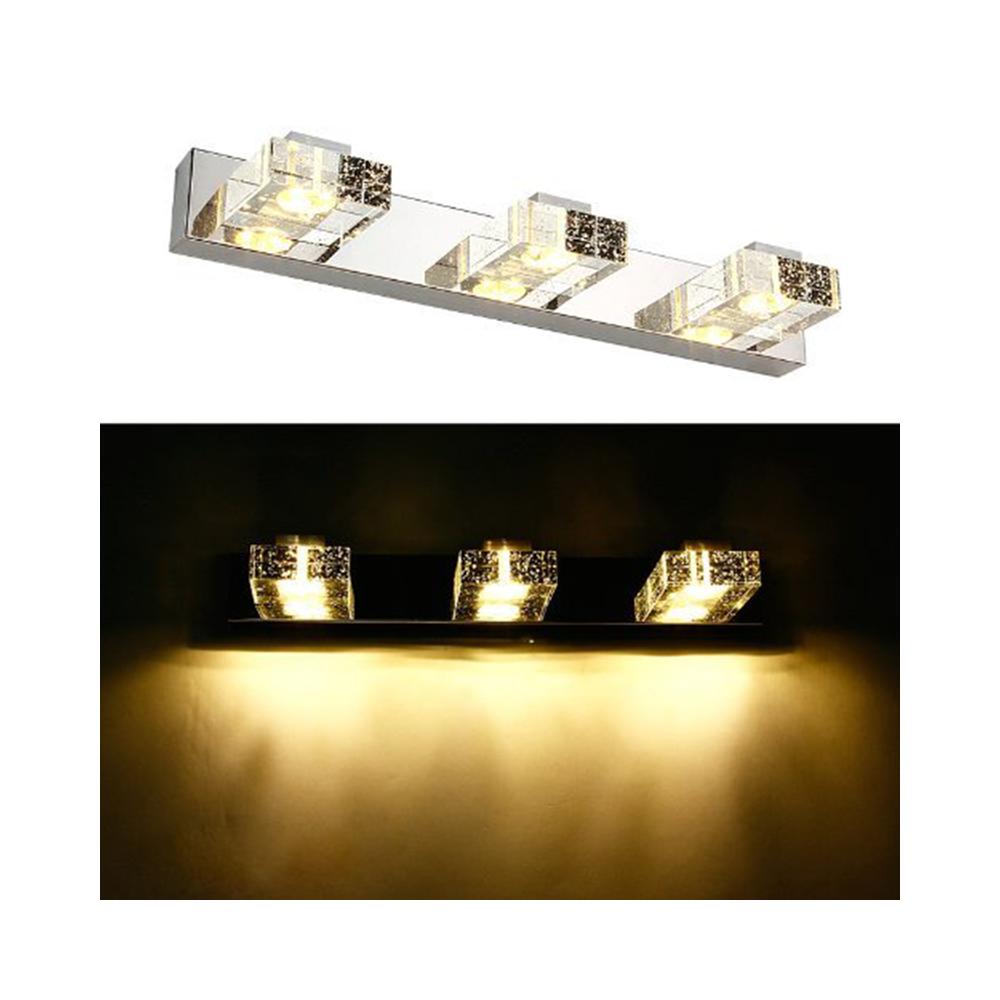 Aplique led espejo ba o 9w cristal - Aplique led espejo bano ...